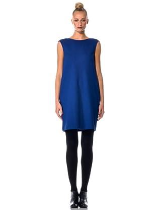 Eccentrica Vestido MC Liso (Azul)
