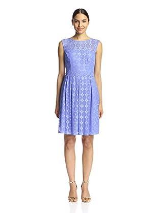 London Times Women's Daisy Dot Dress