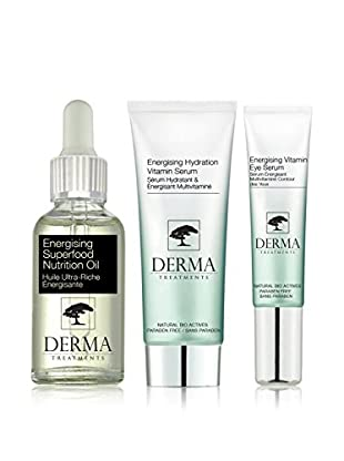 DERMA TREATMENTS Kit Facial 3 Piezas Energising