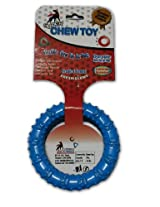 Super Dog Plastic Round Ring Toy Puppy (Pack of 2)