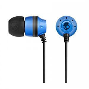 Skullcandy S2INCZ-035 In-Ear Headphone with Mic (Blue/Black)