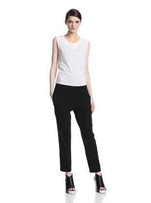 Ann Demeulemeester Women's Cropped Wovi Trouser (Black)