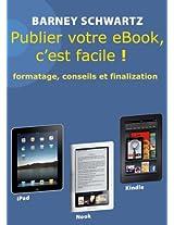Publier votre eBook, c'est facile!