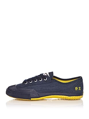 Shulong Zapatillas Shudenim Low (Azul / Amarillo)