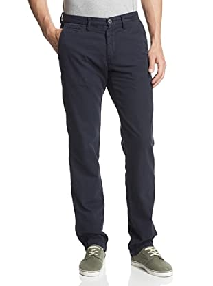 Original Paperbacks Men's Bayside Canvas Flat Front Pant (Navy)