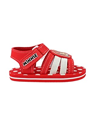 Disney Sandalias Minnie (Rojo)