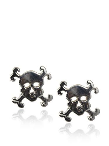 Catherine Angiel Skull Stud Earrings
