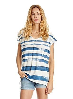 The Hip Tee T-Shirt Distressed Stripe