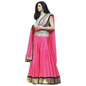 Sridevi jhalak dikhlaja pink bhagal puri lehenga set with koti style blouse