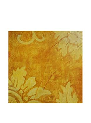Surya Yellow Abstract Nature Wall Décor, Multi, 24