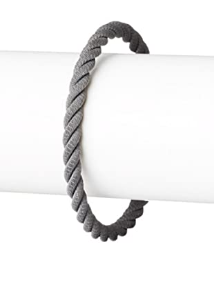Jan Leslie Men's Gunmetal Rope Bracelet