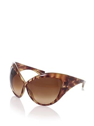 Tom Ford Women's Daphne FT0219 Sunglasses (Light Tortoise Brown)