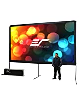 Elite Screens 200 Inch 16:9 Yard Master Outdoor Theater Portable Projection Screen (98.1