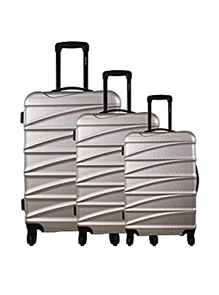 zifel Set de 3 trolleys rígidos TD403 0.0 cm
