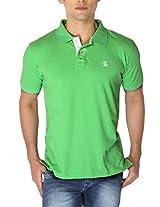 The Cotton Company Luxury Polo's - Green - Size: XL