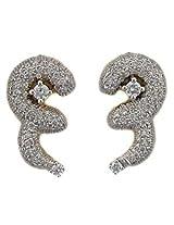 Bling Gold & Diamond Earrings - BGE108