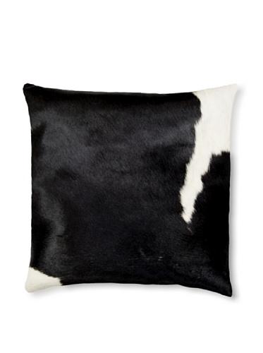 Natural Torino Cowhide Pillow (Black & White)