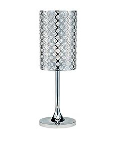Adesso Glitz Table Lamp, Chrome