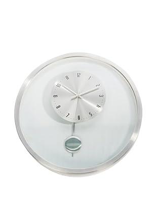 World Friendly World Floating Pendulum Wall Clock