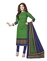 Suhanee Womens Cotton Unstitched Dress Material (Suhanee`S Exclusive Snehaa 1053 _Multi-Coloured)
