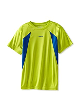 Reebok Boys 8-20 RBK Active Short Sleeve Tee (Lime Punch)