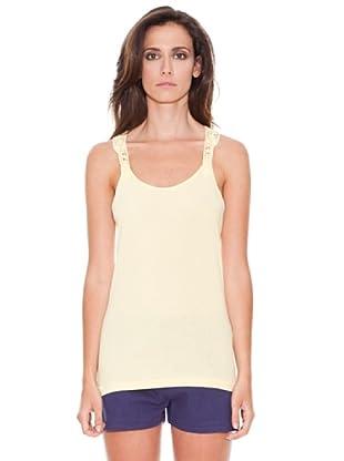Women secret Camiseta Tirantes (Amarillo)