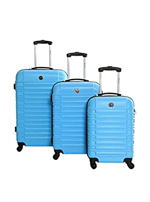 Geographical Norway 3er Set Hartschalen Trolley Stanford