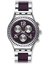 Swatch Analog Purple Dial Women's Watch - YCS573G