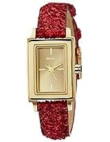 DKNY Analog Gold Dial Women's Watch - NY8711