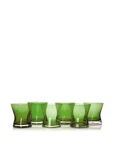 Artland Set of 6 Soho DOF Glasses, Sage