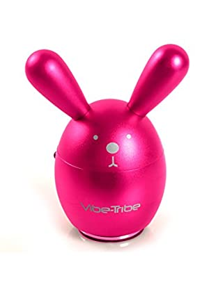 Vibe Tribe Altavoz & Reproductor MP3 Bunny Magenta