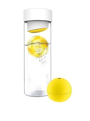 AdNArt Glass Water Bottle (Yellow)