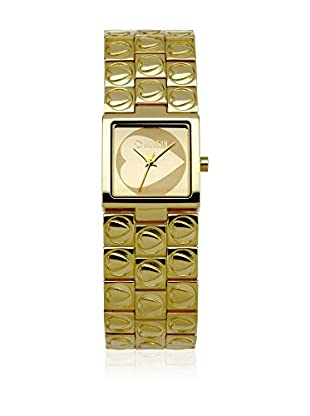 Morgan de Toi Orologio al Quarzo Woman M1075G Dorato 30 mm