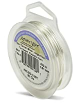 Artistic Wire 20-Gauge Tarnish Resistant Silver Coil Wire, 25-Feet