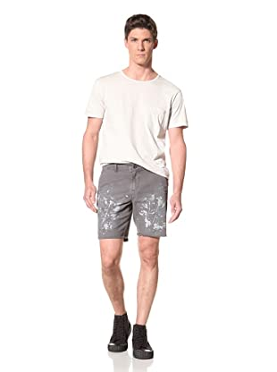 Edun Men's Splatter Paint Shorts (Silicon)