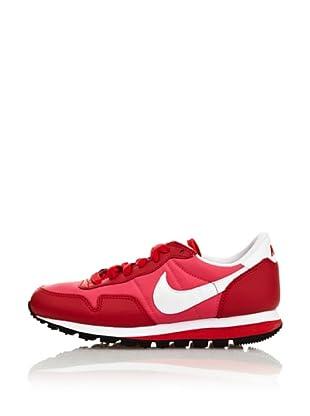 Nike Zapatillas Metro Plus Cl (Gs) (Rosa / Rojo)