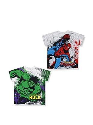 ZZZ-MARVEL 2tlg. Set T-Shirts Pack 12