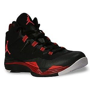Nike Jorden Super Fly 2 Black And Red Men Basketball Shoes 599945 018