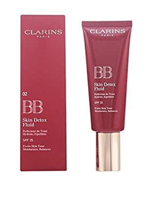 Clarins BB Cream Skin Detox Fluid N°02 Medium 25 SPF 45.0 ml