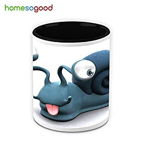 HomeSoGood Mr. Funny Face Coffee Mug