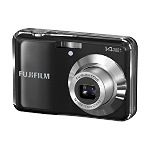 Fujifilm AV200 Digital Camera + Battery Charger + Pouch