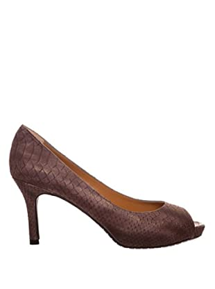 Paco Herrero Zapatos Peep Toe (Visón)
