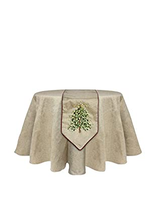 Melrose International Christmas Tree Table Runner