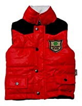 Gron Stockholm Boys' Jacket (GW-0302_Red_9-10 Years)