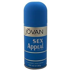 JOVAN -MEN -DEODORANT -SEX APPEAL, 150 ml