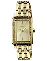 Dkny Analog Orange Dial Women's Watch - NY8624