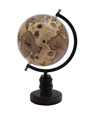 Desk Globe on Black Stand
