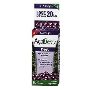 Natrol Acaiberry Diet - 60 Capsules
