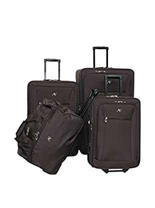 American Flyer 4-Piece Brooklyn Collection Set, Brown
