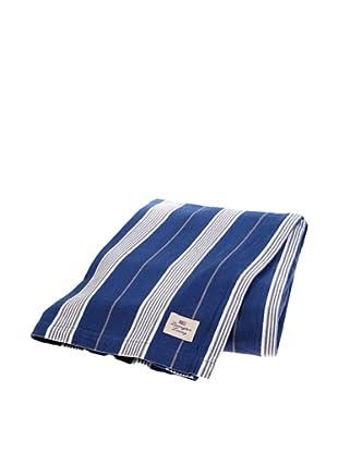 Lexington Company Mantel Rayas (Azul / Gris)